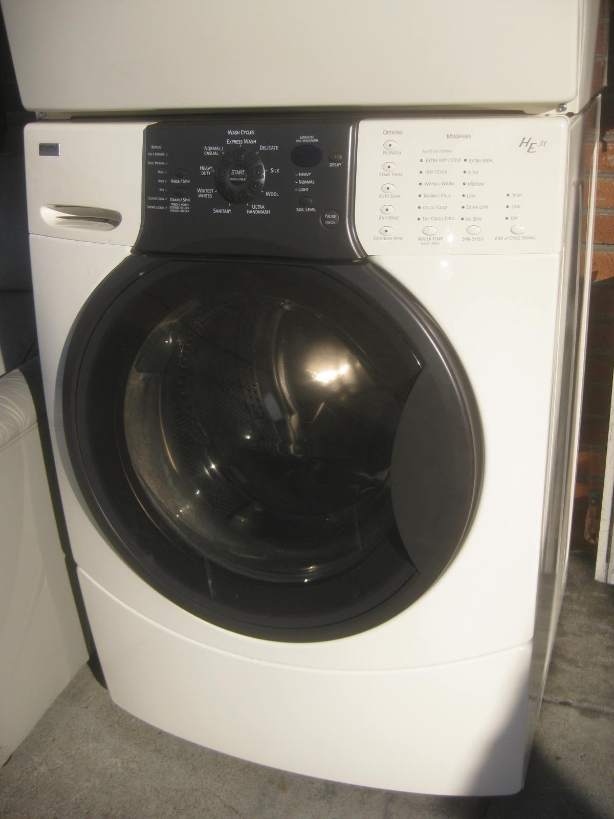 Kenmore Elite Washer And Dryer Parts