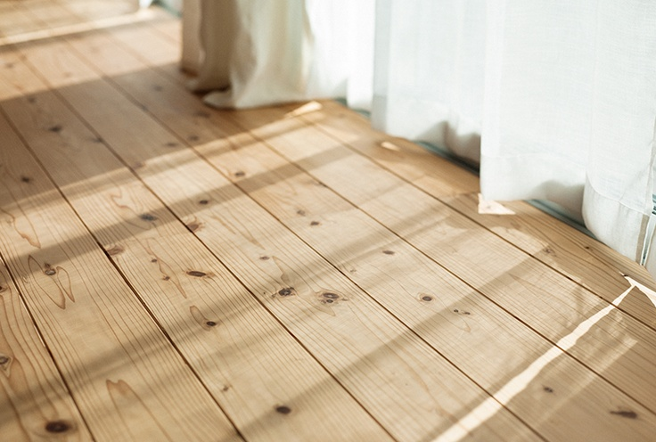 Laura Orr Interiors Pretty Pine Flooring