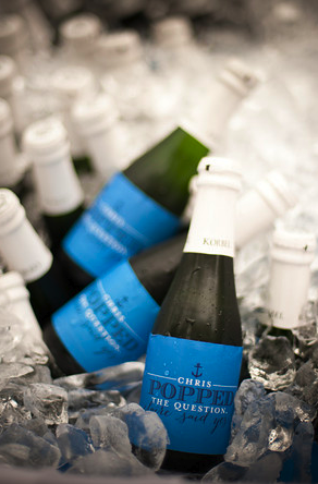 Custom Champagne Labels
