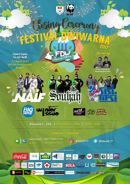 Festival Dwiwarna 2017 - Lorong Musik