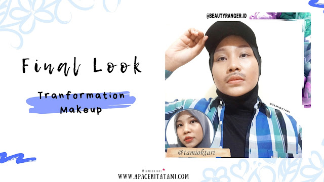 Transformation Makeup (Female to Male)-Tami Oktari