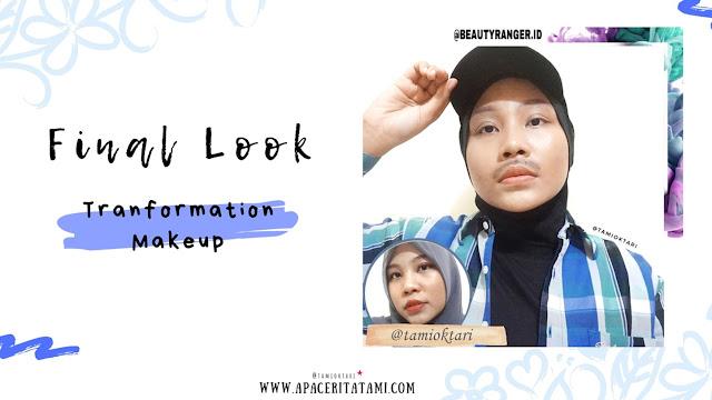 Transformation Makeup (Female to Male)-Tami Oktari