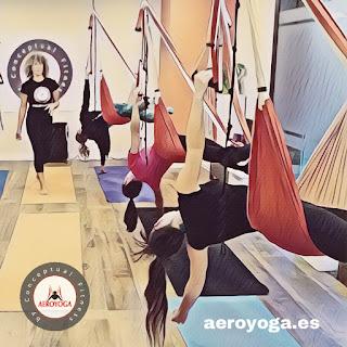 Madrid Hoy! Hemos iniciado un nuevo curso profesores AeroYoga® & AeroPilates® by Rafael Martínez con un gran grupo de estudiantes profesionales del yoga, del pilates , de la salud y el wellness que se preparan como profesores en estas disciplinas homologadas internacionalmente.