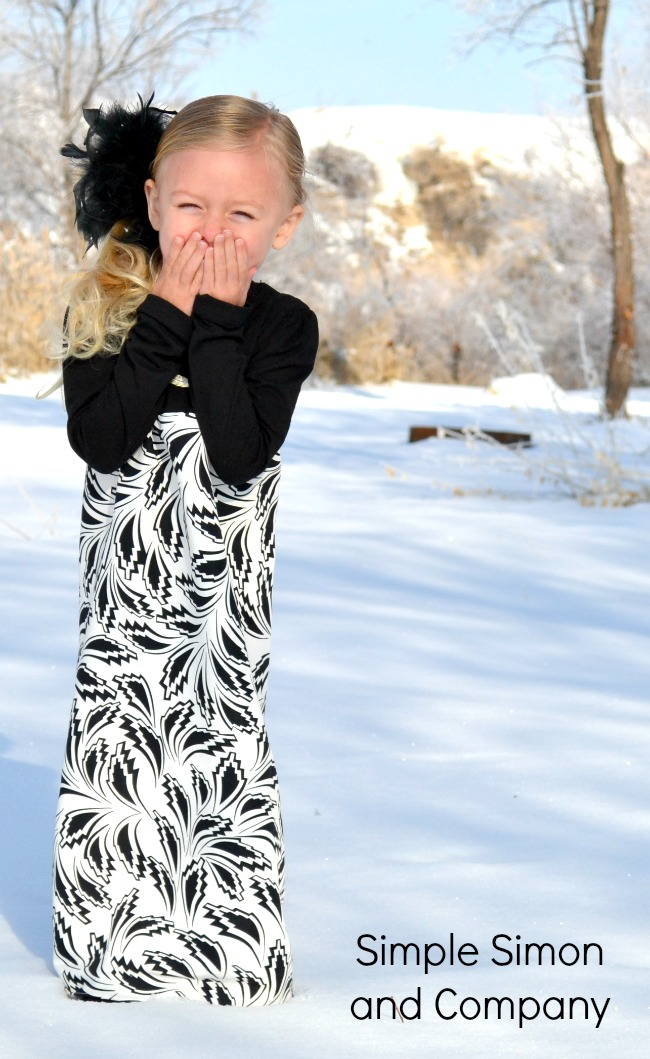 Snow Dresses for Girls