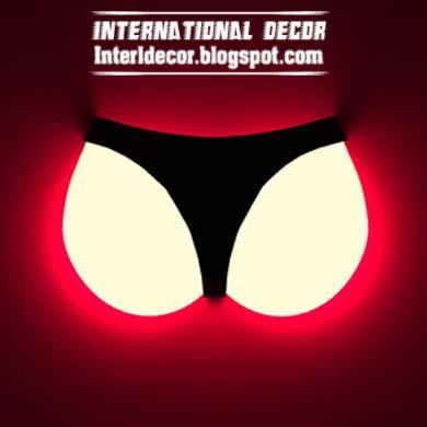 amazing wall lamp cool designs bikini   creative wall lamp. 10 Amazing lamps cool designs   Beautiful Interior Design