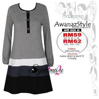 T-Shirt-Muslimah-Awanazstyle-AW006H