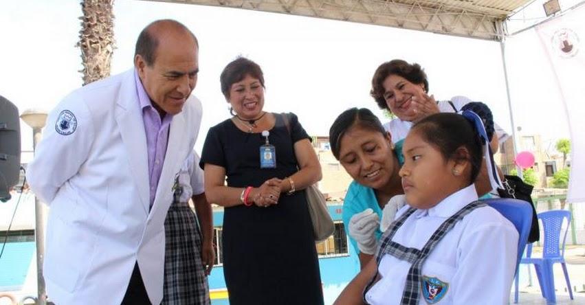 DIRESA y DRE Callao lanzan campaña de vacunación contra el Virus del Papiloma Humano