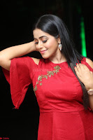 Poorna in Maroon Dress at Rakshasi movie Press meet Cute Pics ~  Exclusive 62.JPG