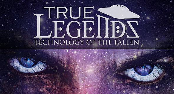 arte oficial de leyendas verdaderas tecnología de los caídos