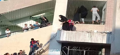 ربات منازل يتسلقون سور, مدارس محافظة الشرقية, مدينة كفر صقر,