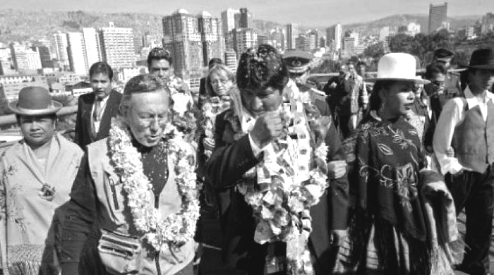 Aliados hasta 2010, el mandatario incluso dijo que quería clonar al alcalde paceño / ARCHIVO WEB