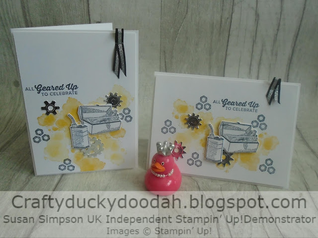 Craftyduckydoodah!, Geared Up Garage, Male Cards, Stampin' Up! UK Independent Demonstrator Susan Simpson, Supplies available 24/7 from my online store
