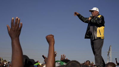 South African President, Jacob Zuma not scared of going to jail amidst corruption controversy