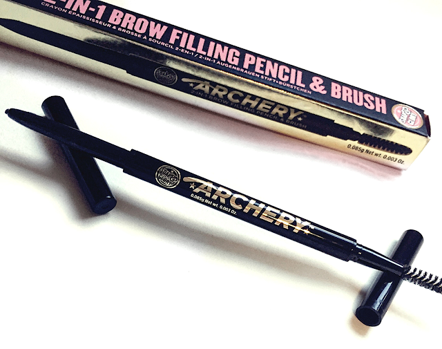 Soap & Glory Archery 2 in 1 Brow Filling Pencil and Brush