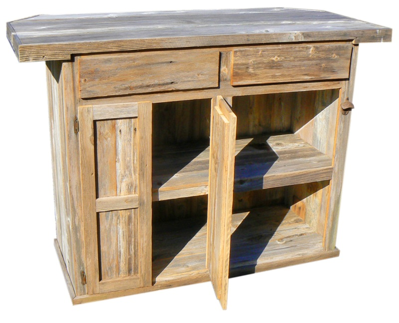 Outdoor Kitchen: Outdoor Wooden Bar, Danby Refrigerator ...