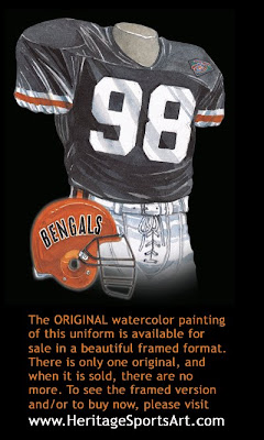 Cincinnati Bengals 1994 uniform
