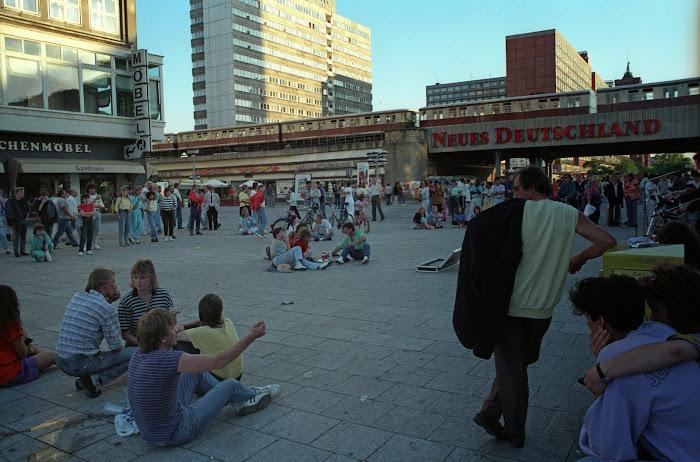 Berlin, Alexander Platz, Alex, © L. Gigout, 1990