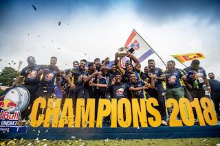 Sri Lanka won Red Bull Campus Cricket World Final beating India
