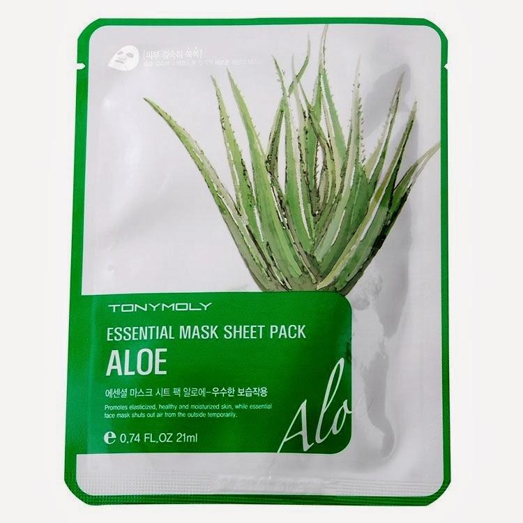 Daily Fresh Aloe Sheet Mask by TONYMOLY #20