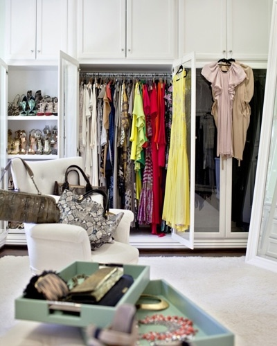Lubov Azria  luxury fantasy closet