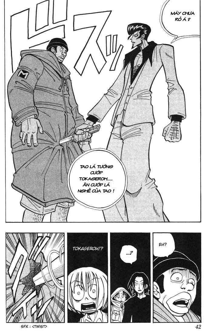 Shaman King [Vua pháp thuật] chap 19 trang 16