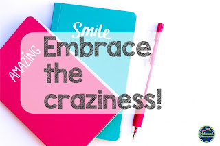 Notebooks that say smile and amazing