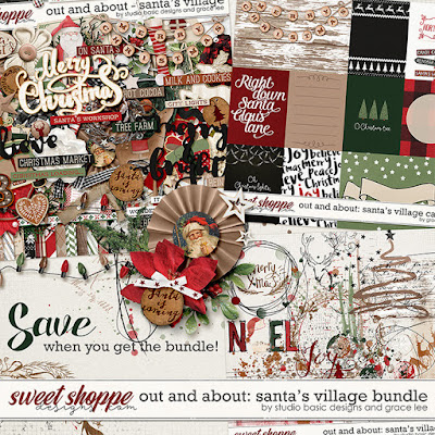 Out and About: Santa's Village Bundle