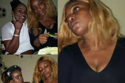 Nollywood Actress,Bimbo Akintola Pictured With Cucumber