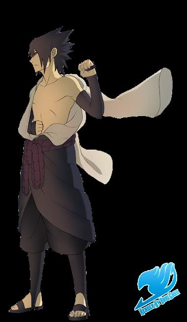 render Sasuke Uchiha + Naruto