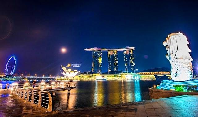 Ikon Negara Singapura Asal Usul Julukan
