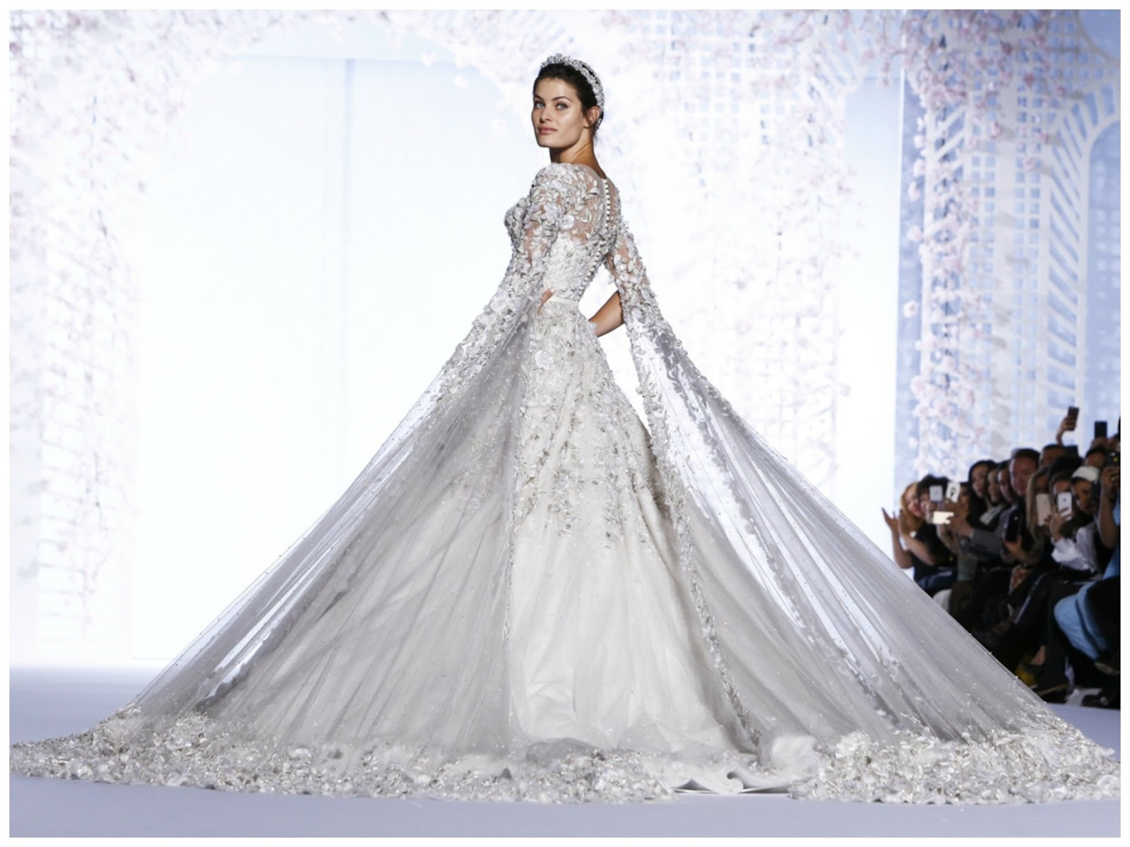 Spring 2016 couture ralph russo the enchanted boudoir for Ralph and russo wedding dress