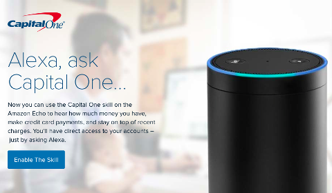 Capital One sur Alexa