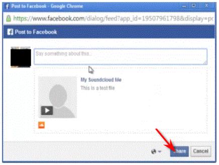 Cara Memasang Musik/File MP3 di Facebook