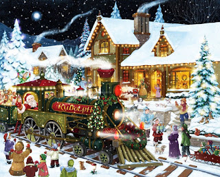 Santa-rides-Rudolph-north-pole-express-stops-at-station-picture.jpg