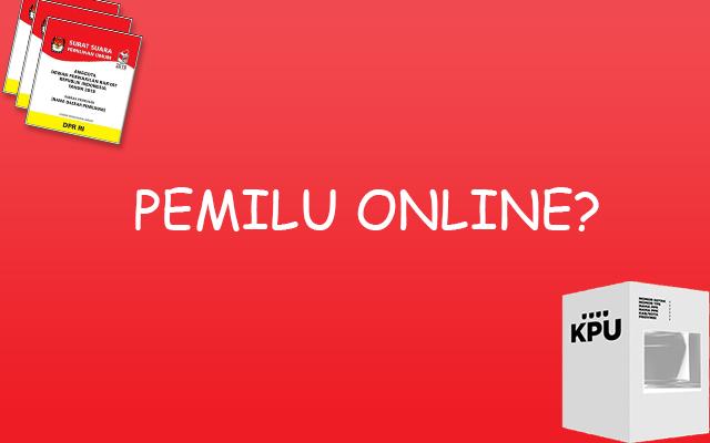 Pemilu Online - Ilustrasi