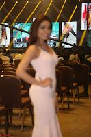 Aishwarya Devan in lovely Light Pink Sleeveless Gown 029.JPG