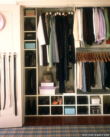 Martha Stewart's Closet