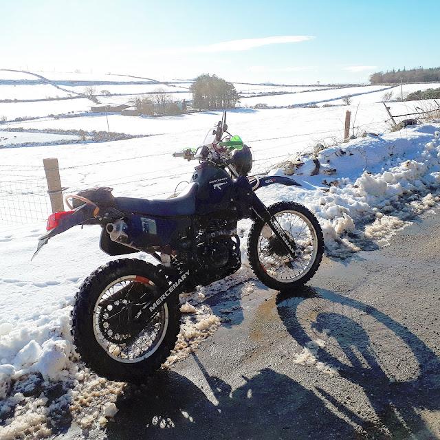 Snowy KLR250