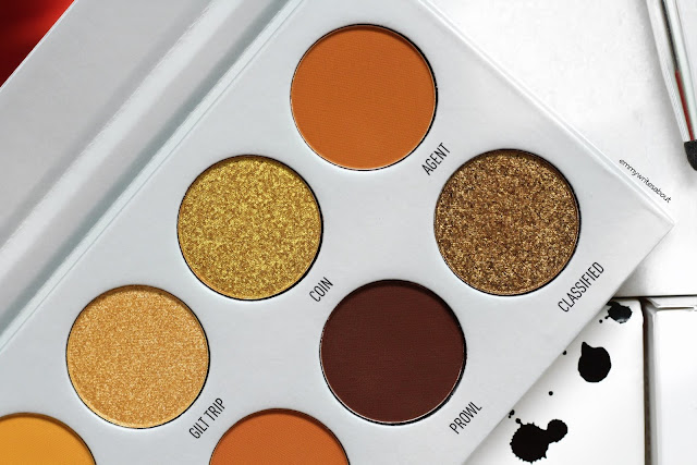 Morphe Armed & Gorgeous Eyeshadow Palette Review
