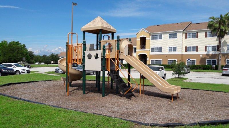 Playground at Apartment Complex