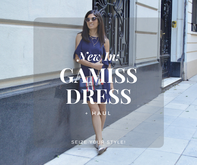 Gamiss Blue Dress and Haul