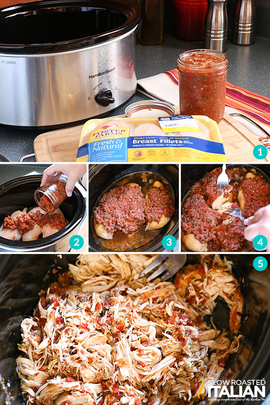 Salsa Chicken Crockpot