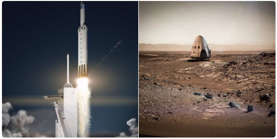 Sky and Rockets: SpaceX reportedly sets its sights on Mars ...
