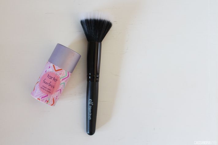 MOST LOVED // May '14 - Tarte Cheek Stain in Fearless + e.l.f. Studio Stipple Brush - cassandramyee