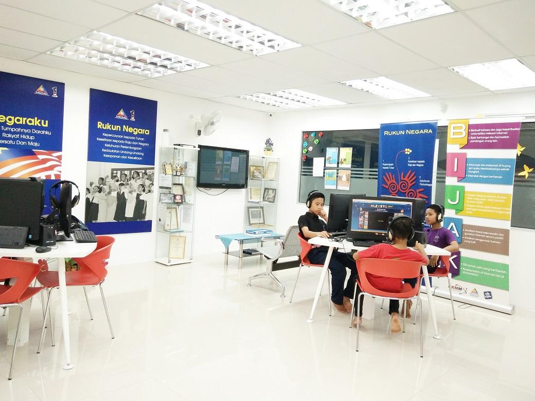 Pusat Internet Satu Malaysia Di Felda Layang-Layang