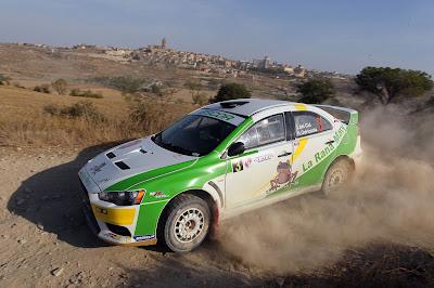 Jorge del Cid se proclama vencedor de la Evo Cup en el Rally Norte de Extremadura.