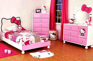 Model Pakaian Lemari Anak Perempuan Hello Kitty