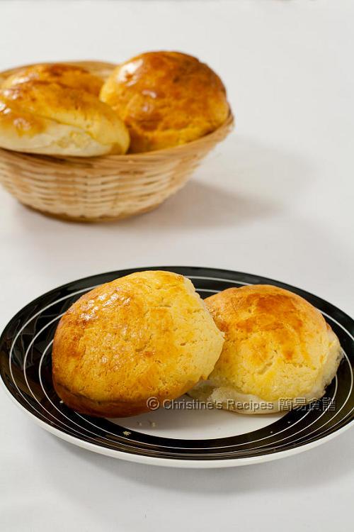 Pineapple Buns (Bo Luo Bao 菠蘿包)01