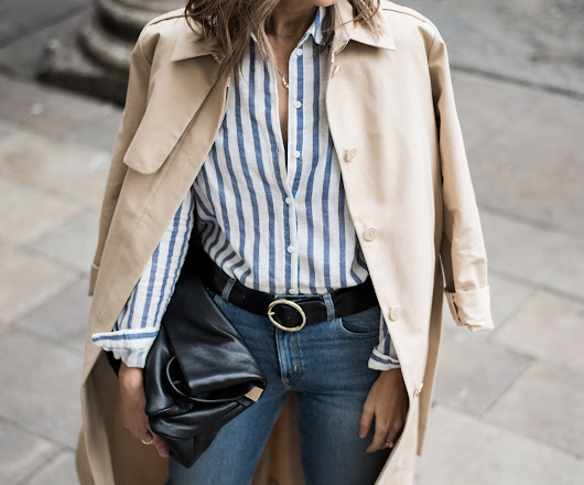 Trench & Stripes