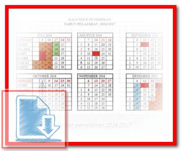 Download Kalender Pendidikan Tahun 2017